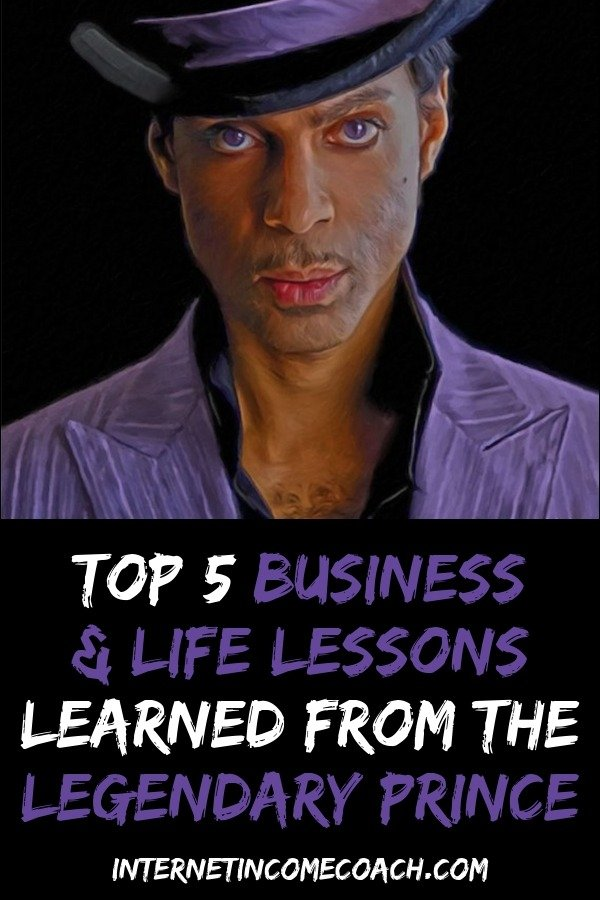 The top 5 business and life lessons I learned from the late great legendary Prince. #Prince