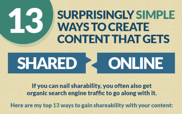 13 Simple Steps to Creating Shareable Content