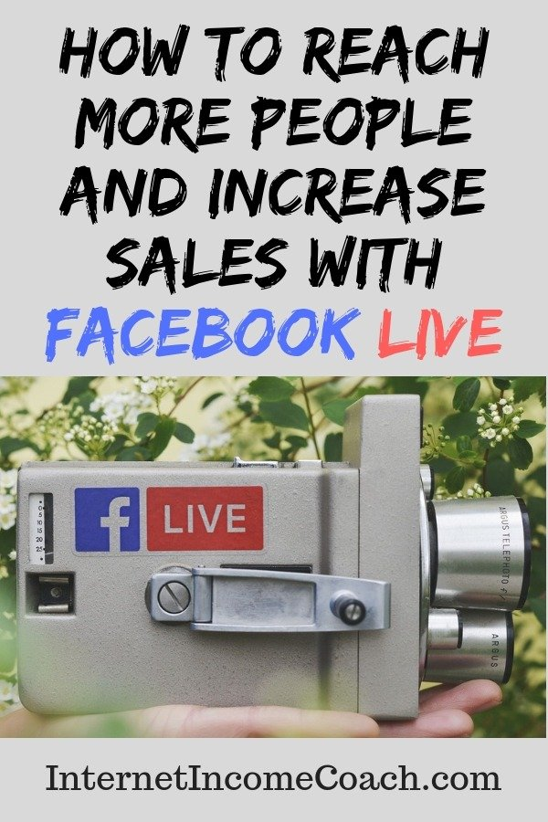 How to reach more people and increase sale with Facebook Live. #Facebook #FacebookLive